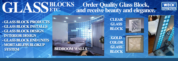 Glass Blocks Etc. - Glass Block Products