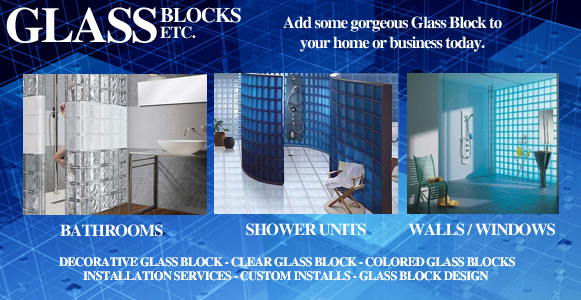 Glass Blocks - Add Some Gorgeous Glass Block To Your Home or Business Today