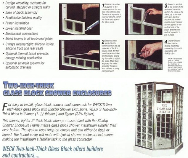 Glass Block Install Instructions Step-By-Step